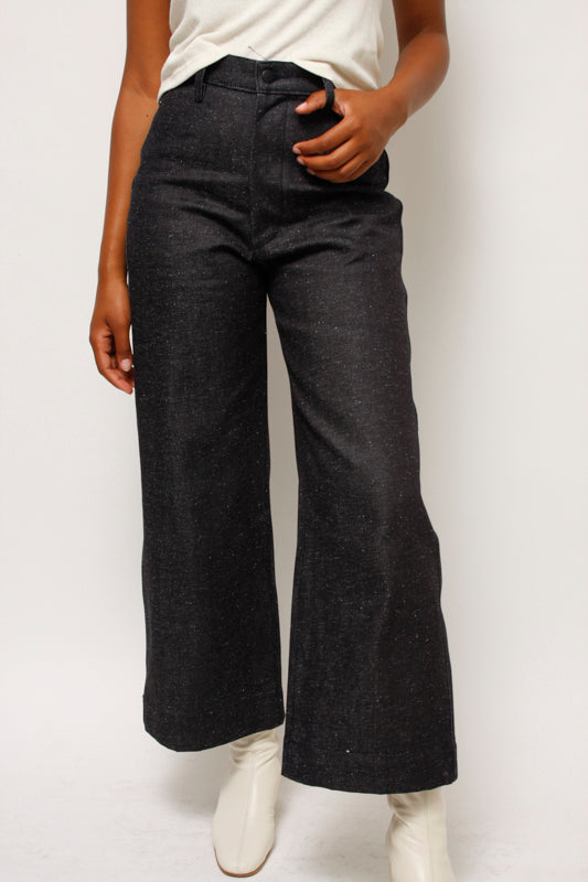 OZMA HIGH RISE WIDE LEG PANT