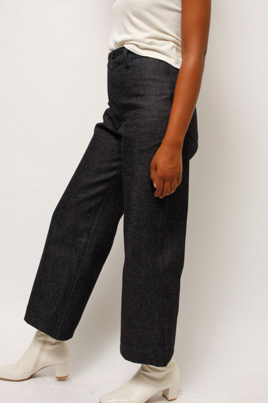 OZMA HIGH RISE WIDE LEG PANT - Cloak and Dagger NYC