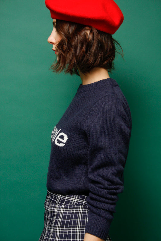 L'ECOLE DES FEMMES L'ECOLE SWEATER - Cloak and Dagger NYC