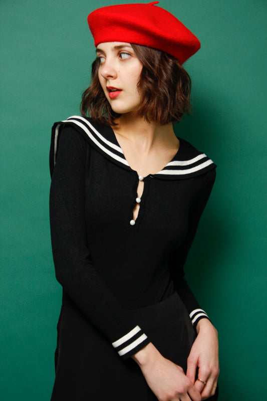 L'ECOLE DES FEMMES SAILOR BODYSUIT - Cloak and Dagger NYC