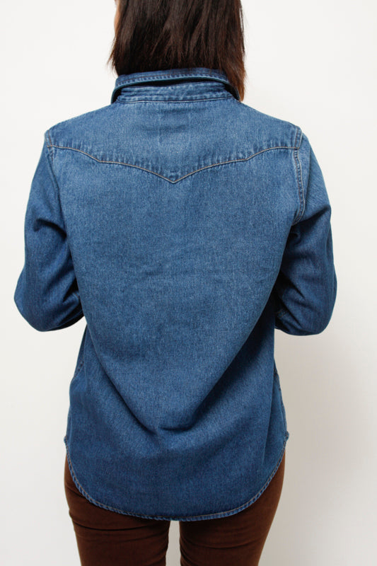 WRANGLER ICON DENIM SHIRT