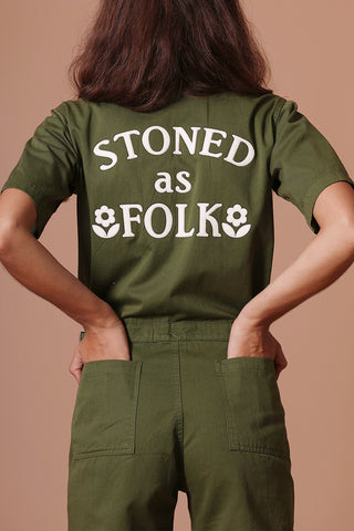 SUGARHIGH LOVESTONED STONED AS FOLK COVERALL