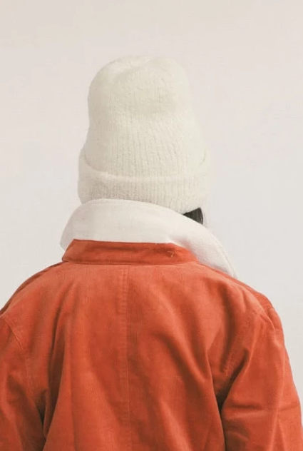 KORDAL POLAR BEANIE, CREAM - Cloak and Dagger NYC