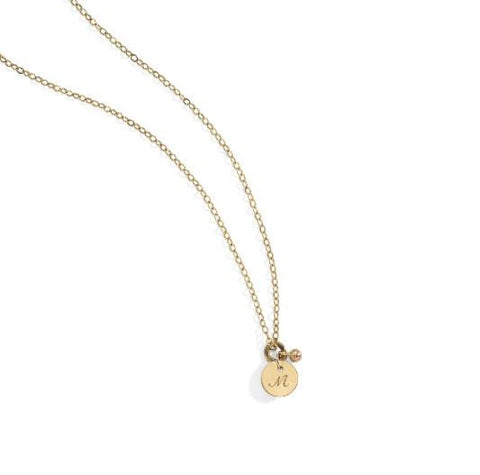 BLANCA MONROS GOMEZ ID DISC NECKLACE
