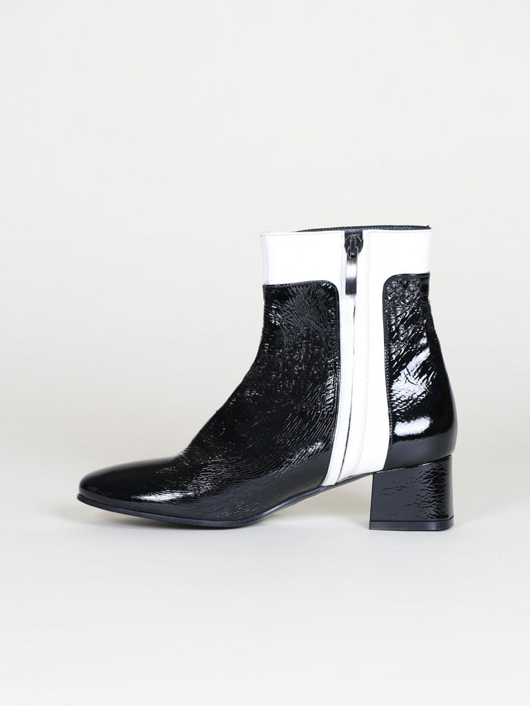 CAREL ACHILLE CALF PATENT BOOT - Cloak and Dagger NYC