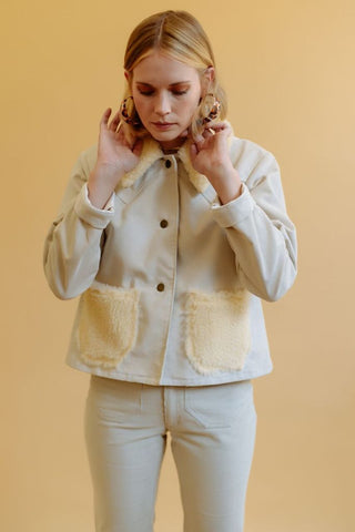 LYKKE WULLF RANCH JACKET WITH FUR