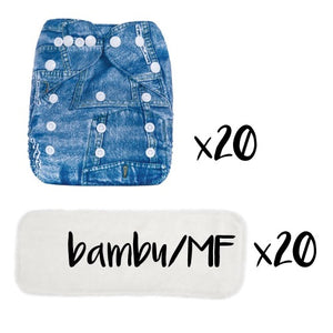 Eco Mini Pocket diaper package deal
