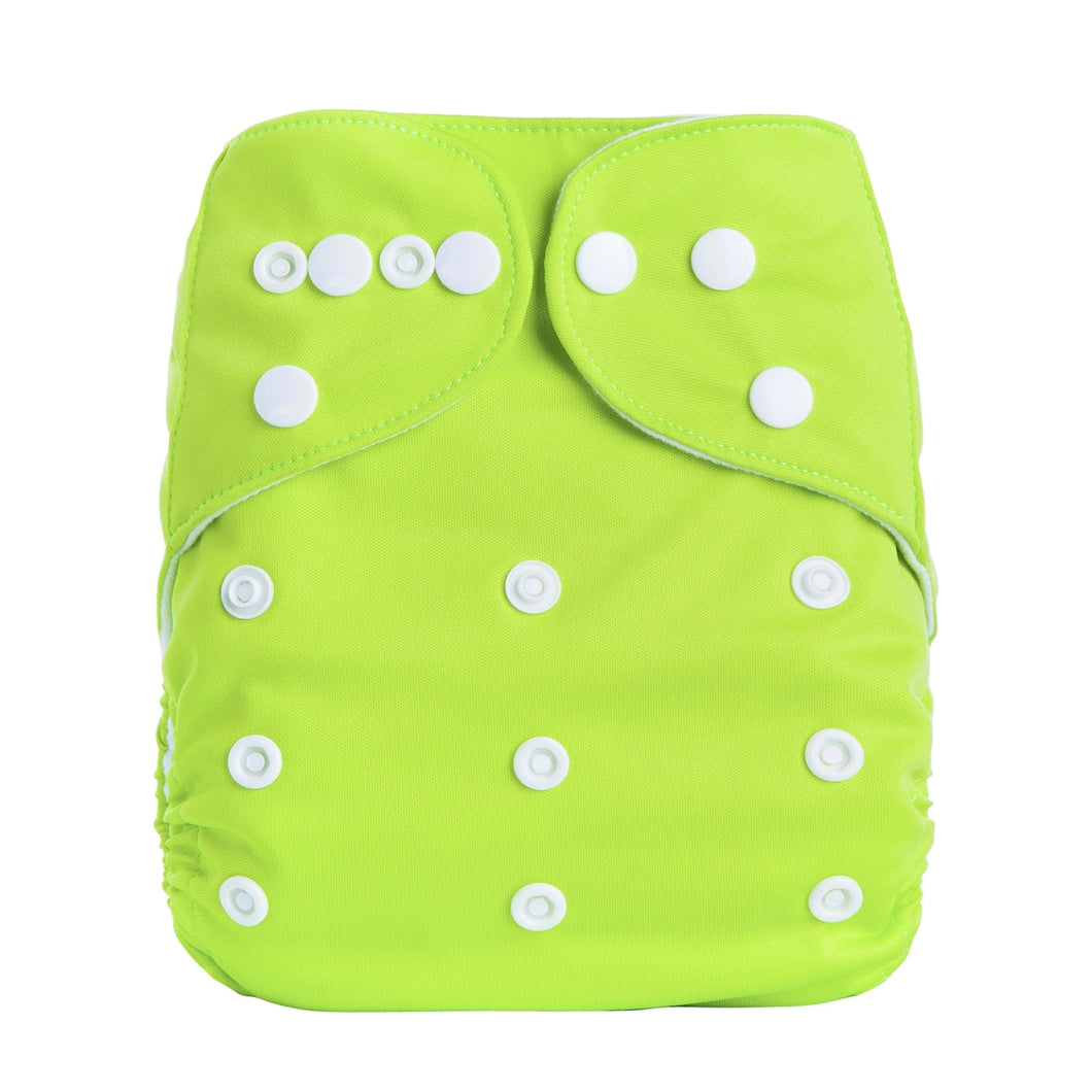 Eco Mini One Size Pocketblöjor. Lime green