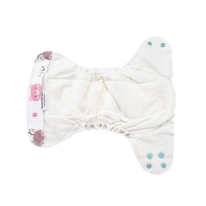 Eco Mini Cloth Diaper - Inside details