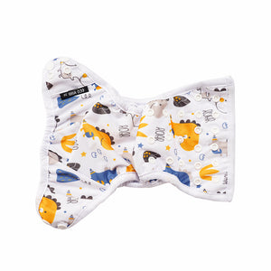 Eco Mini Cloth Diaper cover - outside detail