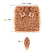 Load image into Gallery viewer, Dog Lion Mane - Realistic & Funny Lion Mane for Dogs - Complementary Lion Mane for Dog Costumes