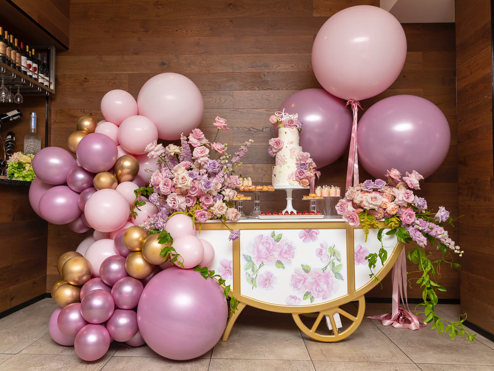 PRETTY PASTEL AND GOLD CHRISTENING