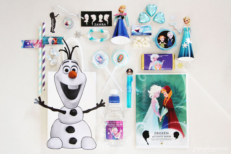 frozen-birthday-party-favours