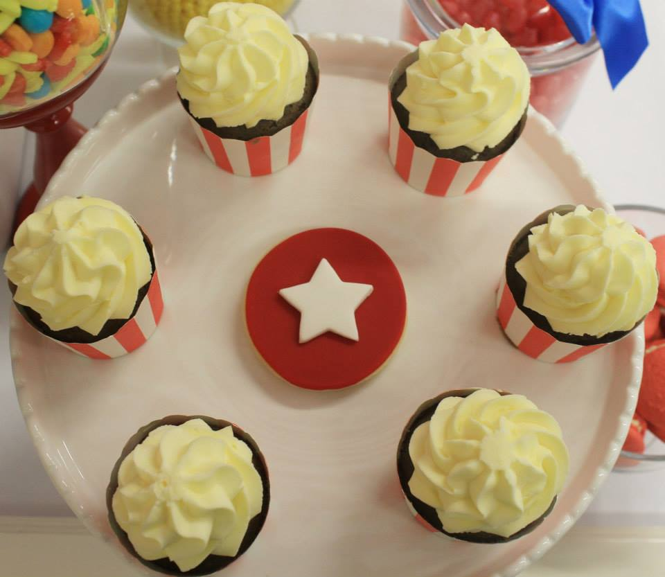 arnival-circus-theme-first-birthday-party-dessert-table-cake-cupcakes