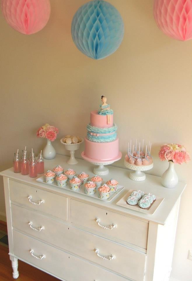 ballerina dessert table