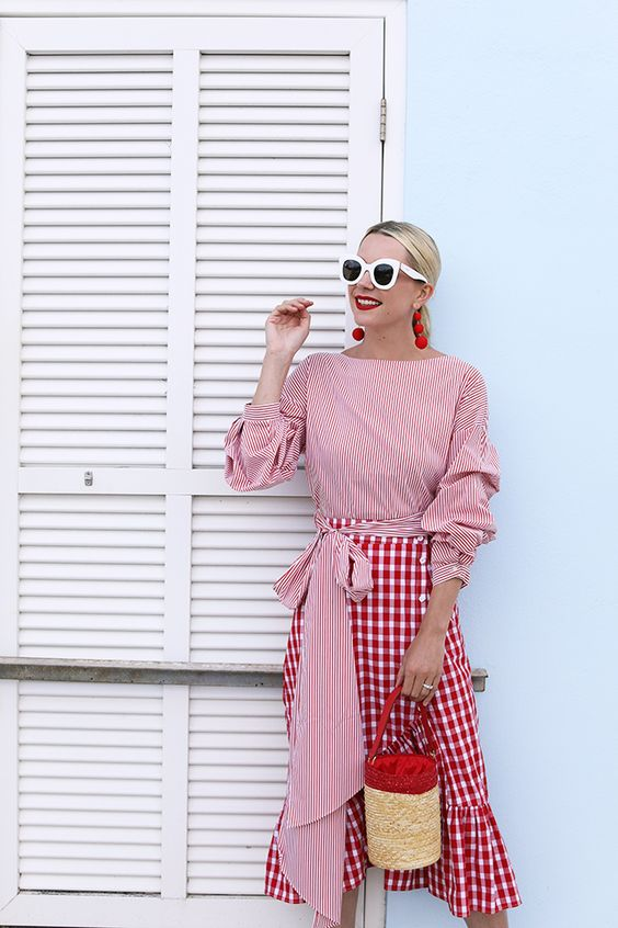 gingham-trend-red
