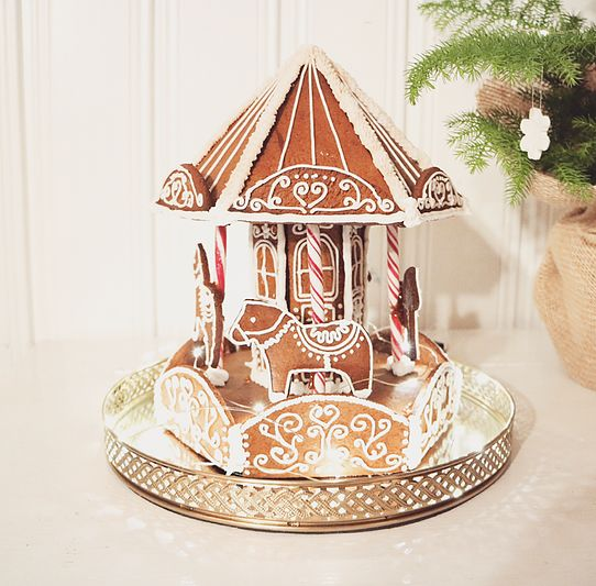 A Gingerbread carousel