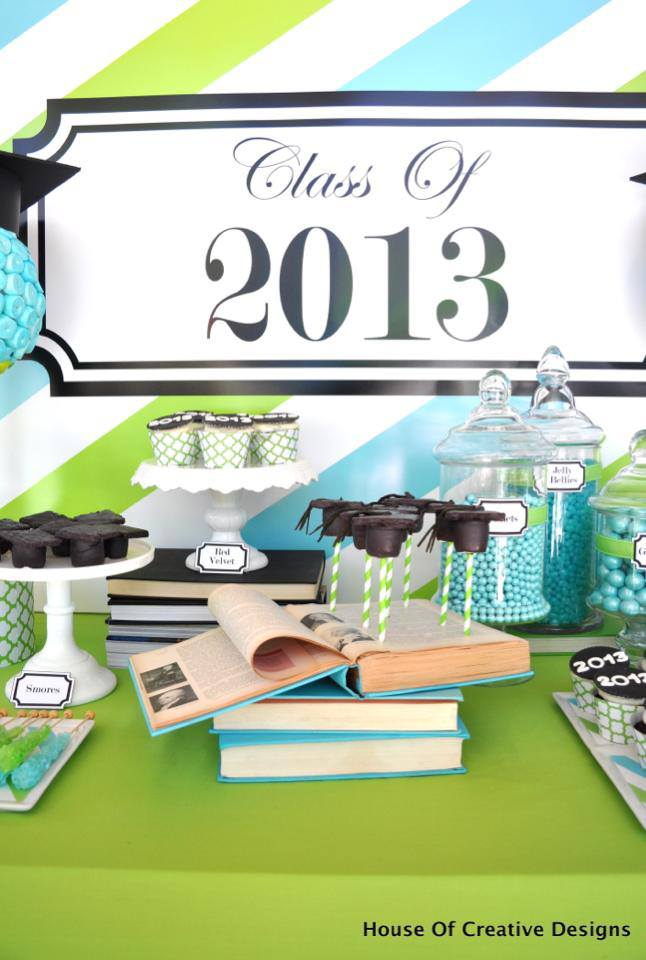blue-and-green-graduation-party-dessert-table-cakepops