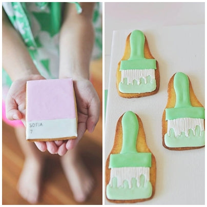 ART-INSPIRED-PANTONE-PINK-PARTY-COOKIES