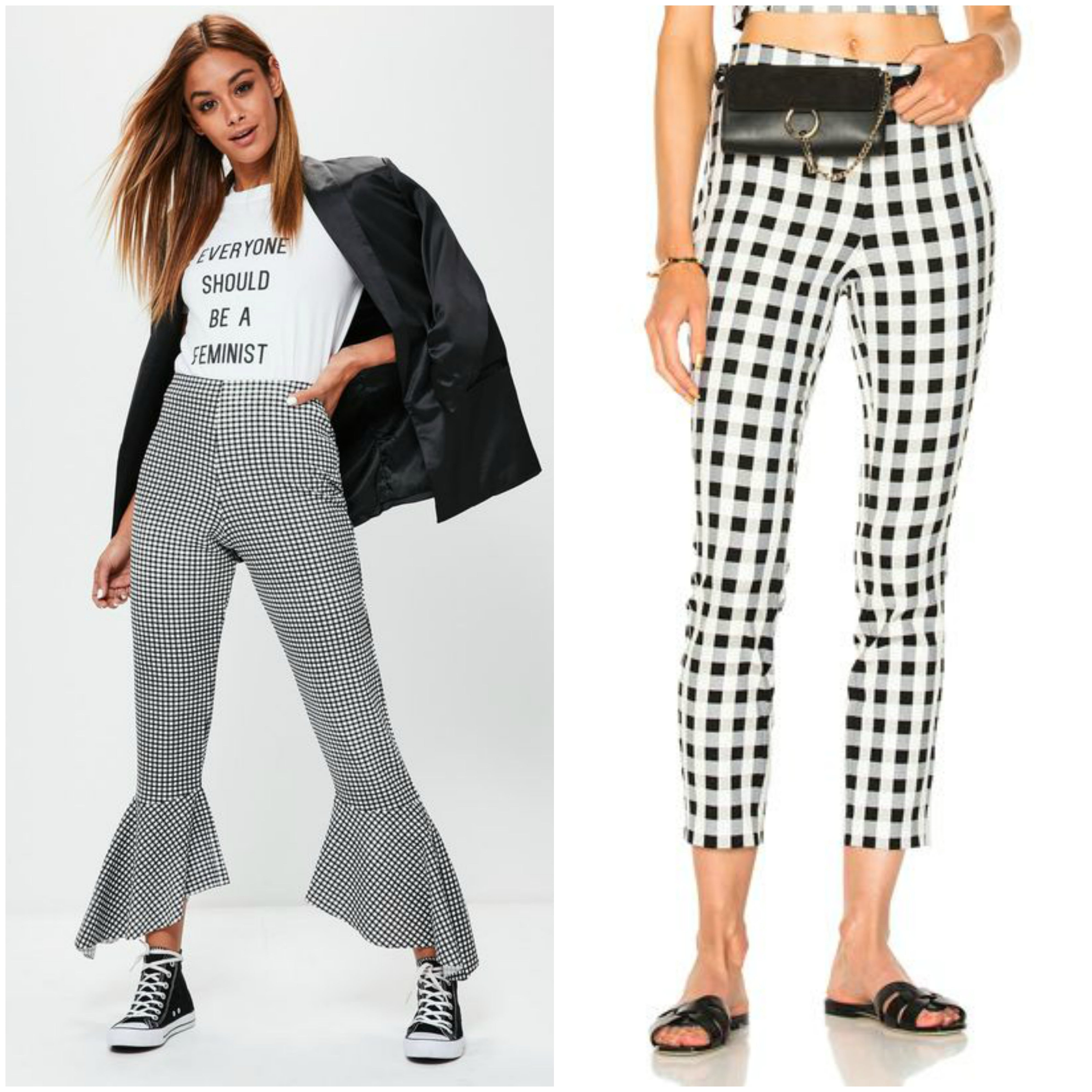 gingham-pant-trend-collage