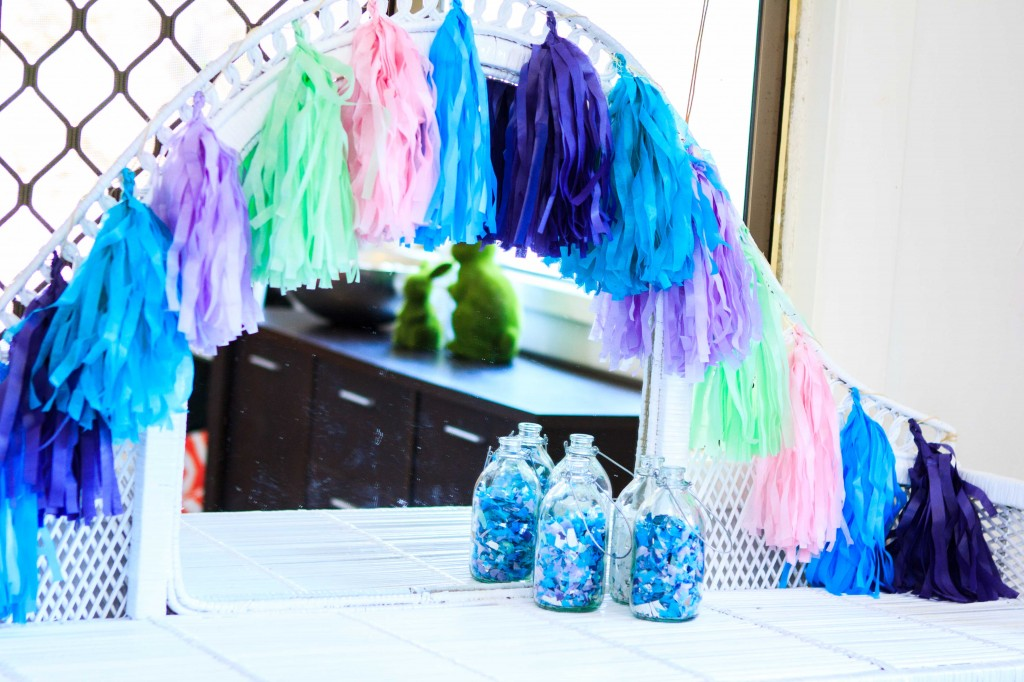 MERMAID-THEME-PARTY-TASSEL-GARLAND