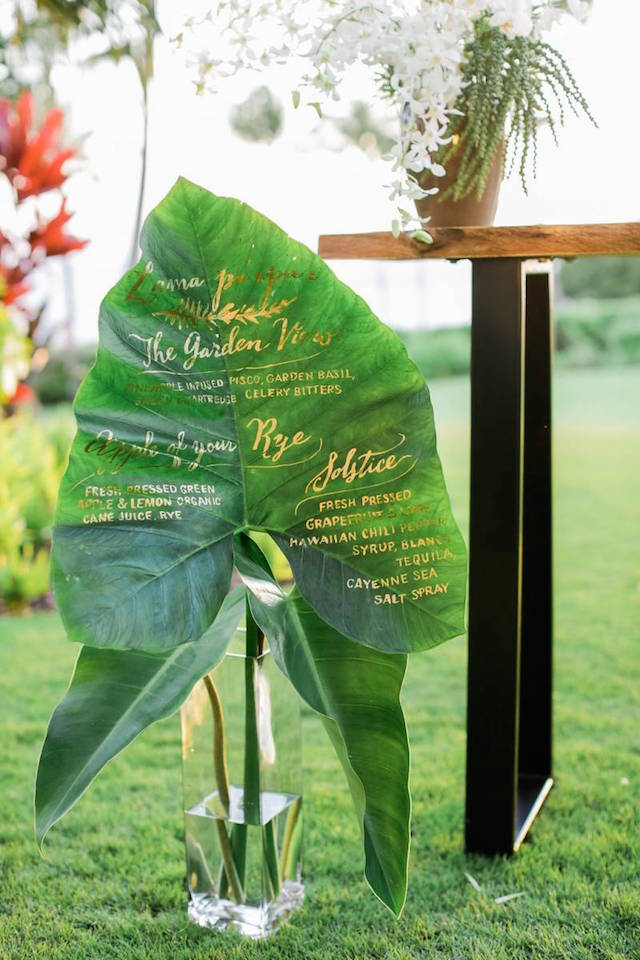 Calligraphy-Leaf-Wedding-Signage-OSBP