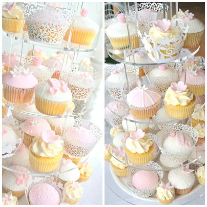 pink-and-white-wedding-dessert-table-cupcakes