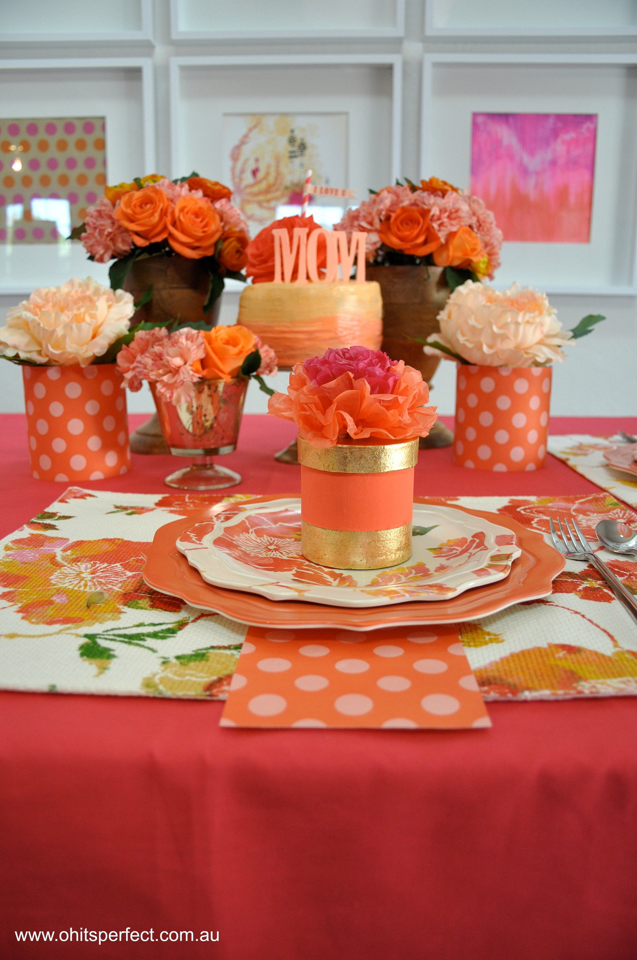 mothers-day-tablescape-flowers-orange-pink