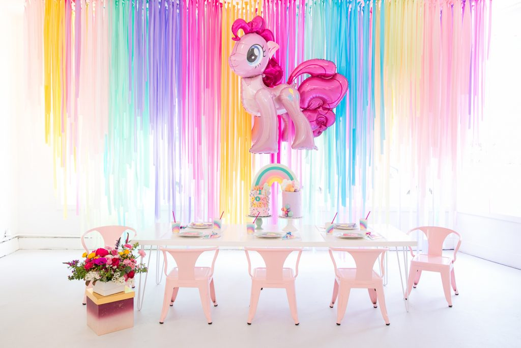My Little Pony Table Decorations