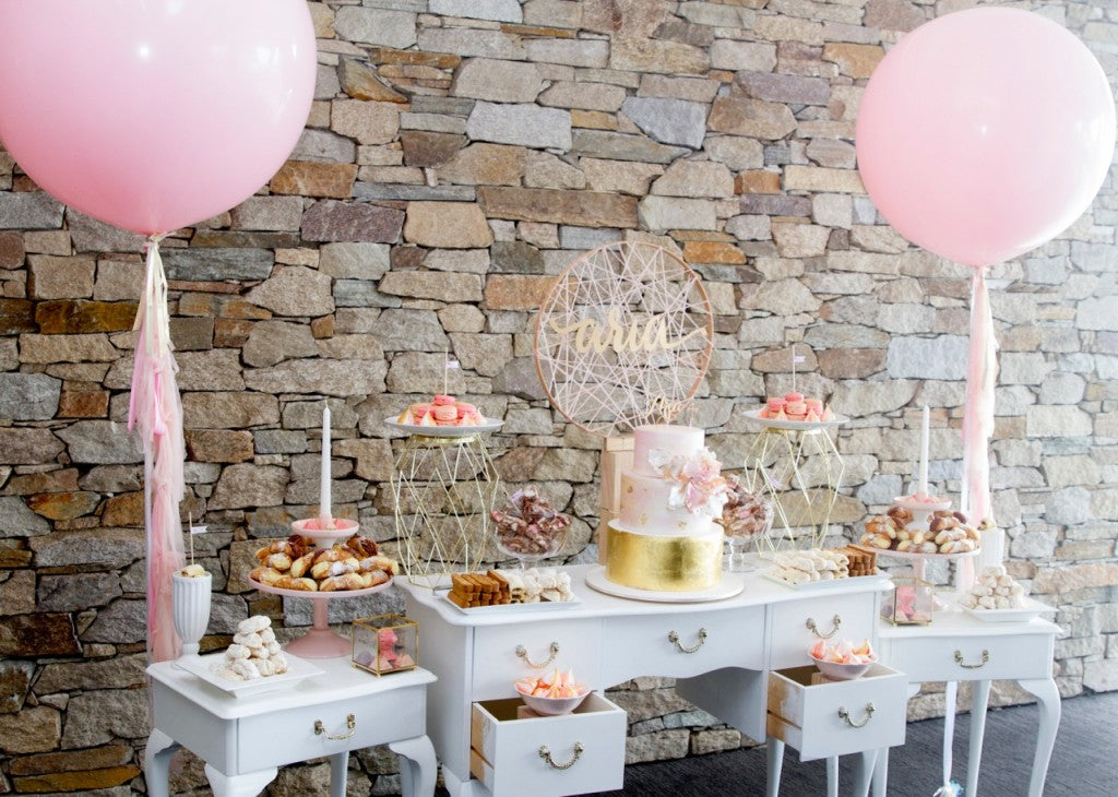 pink-gold-christening-party