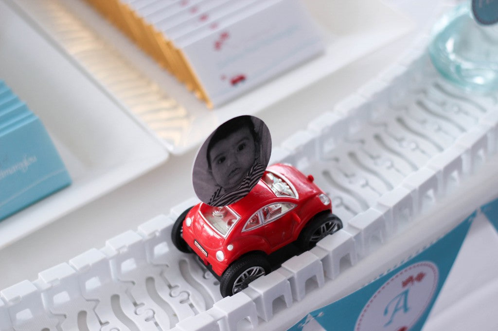 little-red-car-christening-party