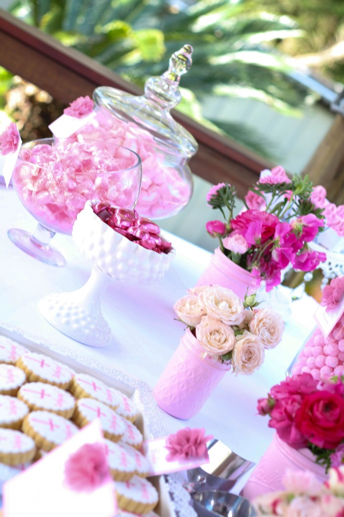 floral-pink-christening-party-dessert-table