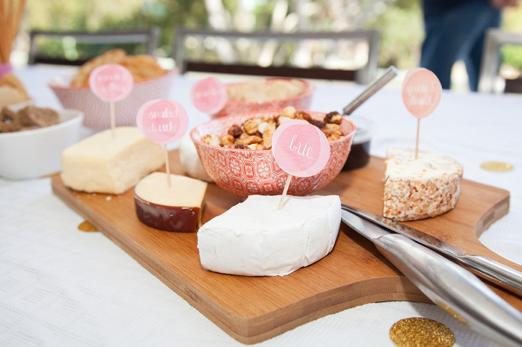 pink-gold-bunny-first-birthday-party-food