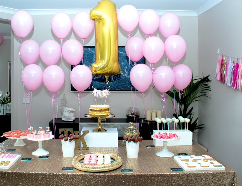 pink-gold-glitter-girls-first-birthday-party