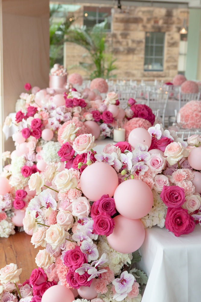 floral-pink-first-birthday-party