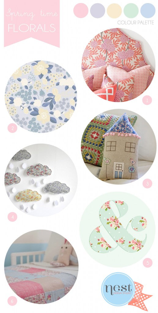 nursery-interior-inspiration-board-floral