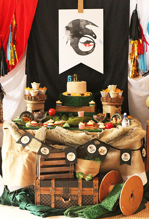 How-To-Train-Your-Dragon-Birthday-Party-Table