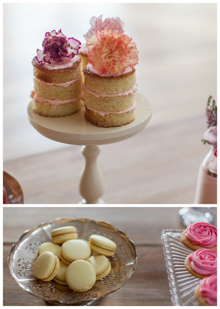 rustic-dessert-table-naked-cake-macarons