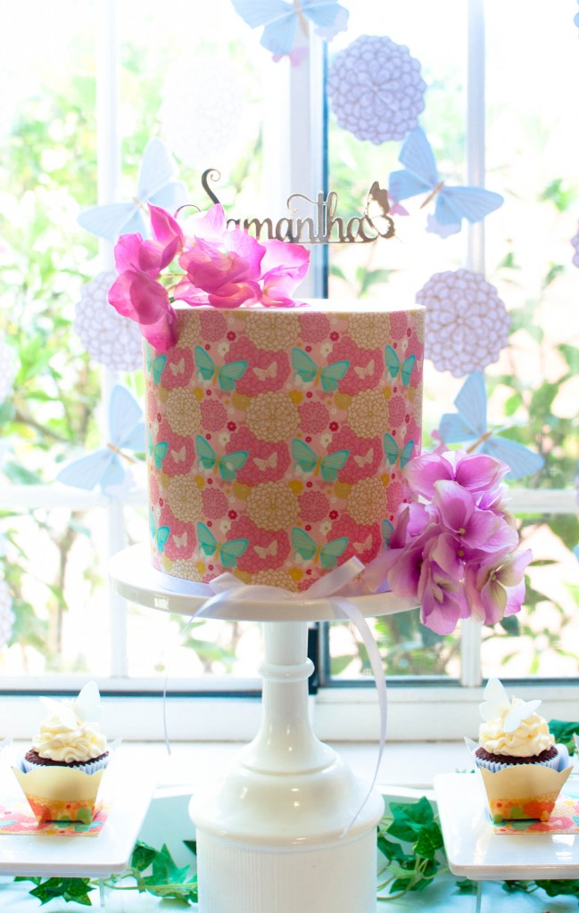 butterfly-floral-birthday-party-cake