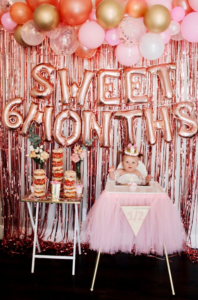 sweet-6-month-party