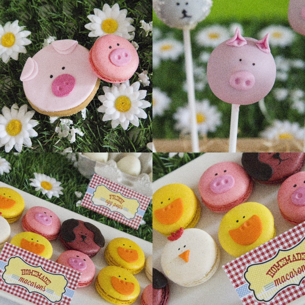 animal-farm-party-cookies-macarons