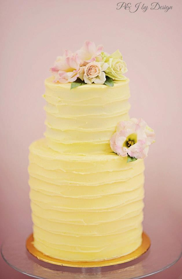 beautiful-yellow-cake-double-tiered