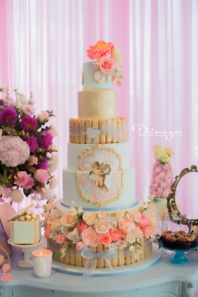 christening-party-cake