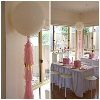 party-decor-geometrical-theme-pink-and-gold-seventh-birthday-party