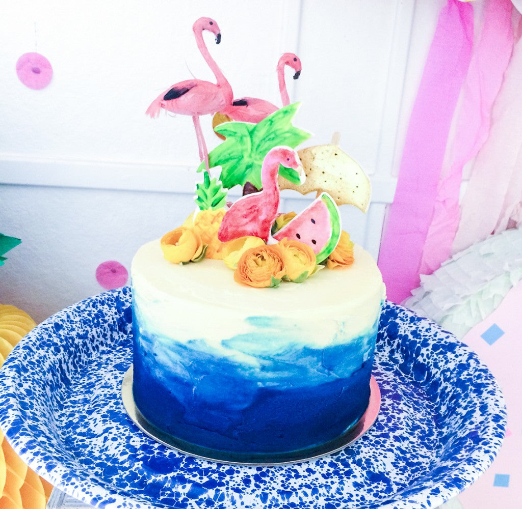 tropical-birthday-cake