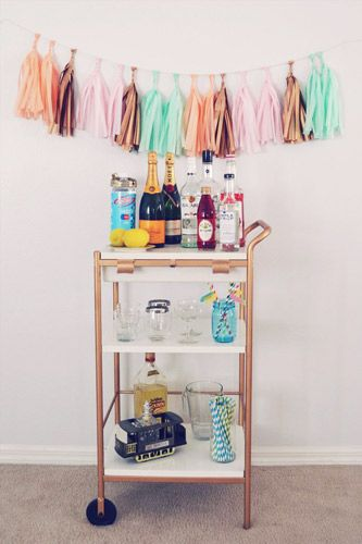 styling a barcart