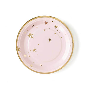 Load image into Gallery viewer, Baby Pink Star Plates