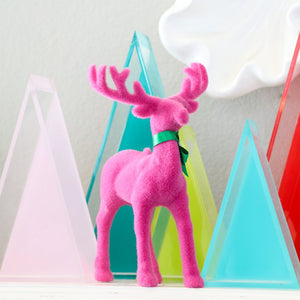 Load image into Gallery viewer, Coloured Flocked Reindeer