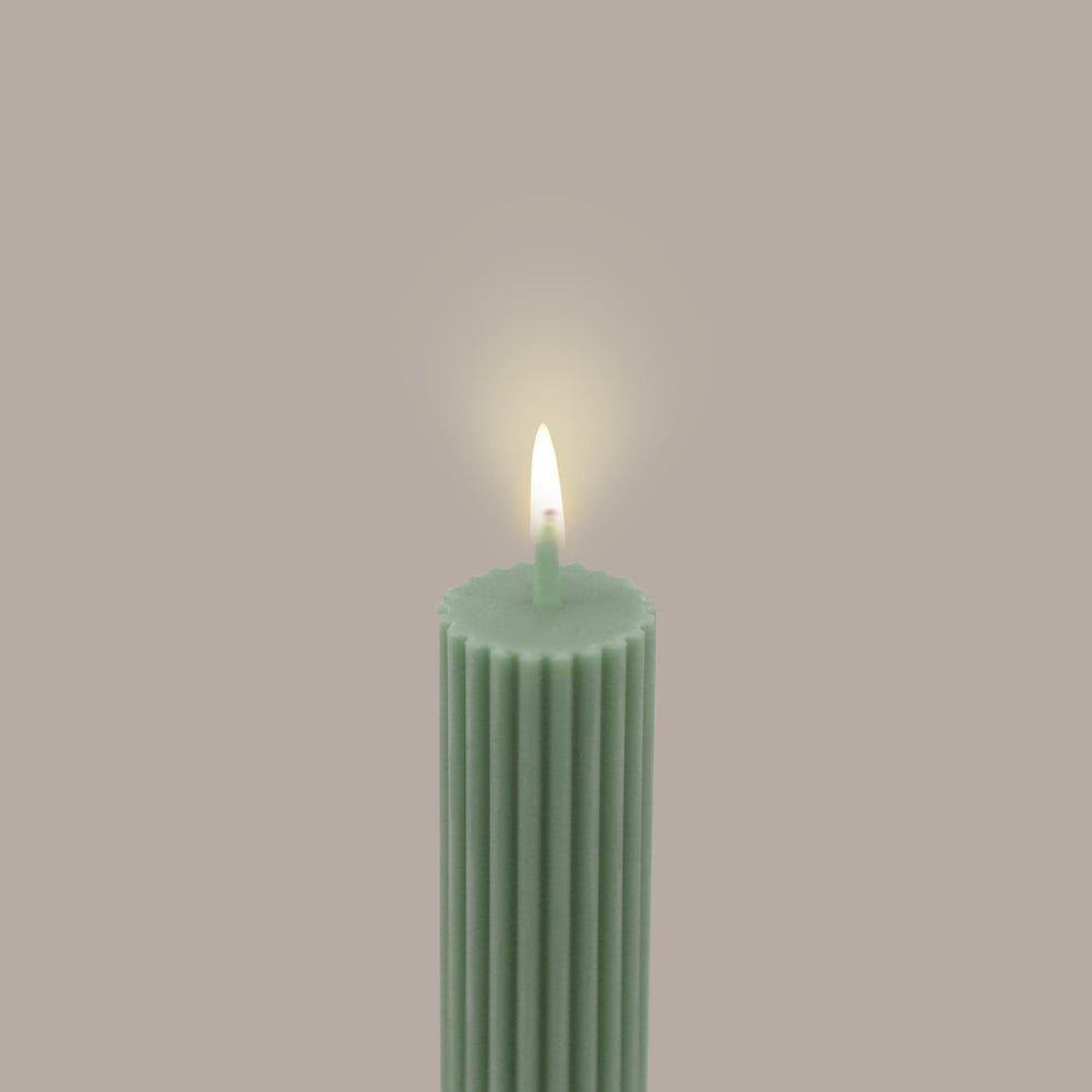 Load image into Gallery viewer, Column Pillar Candle - Eucalyptus