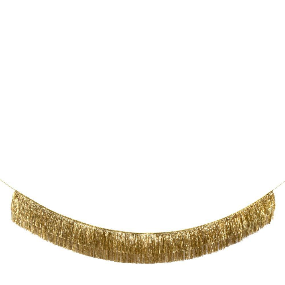 Load image into Gallery viewer, Garland Tinsel Fringe Gold